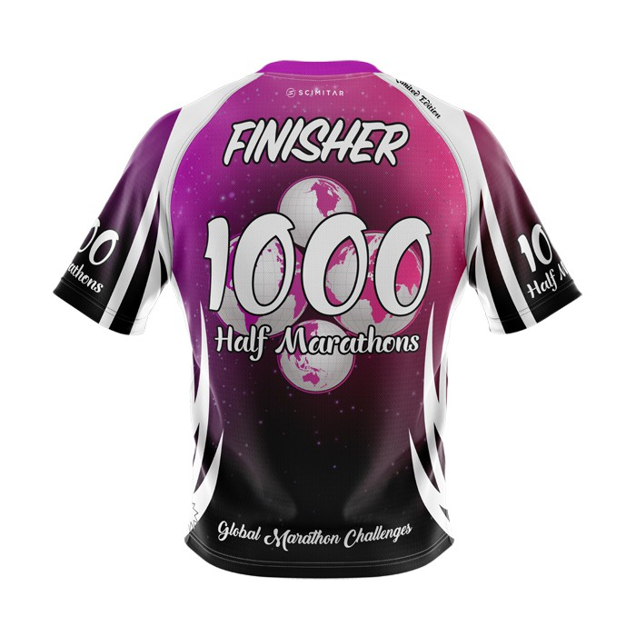 1000 Half Marathons - Milestone T-Shirt