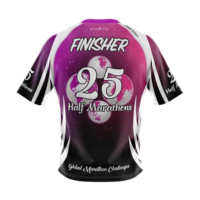 25 Half Marathons - Milestone T-Shirt