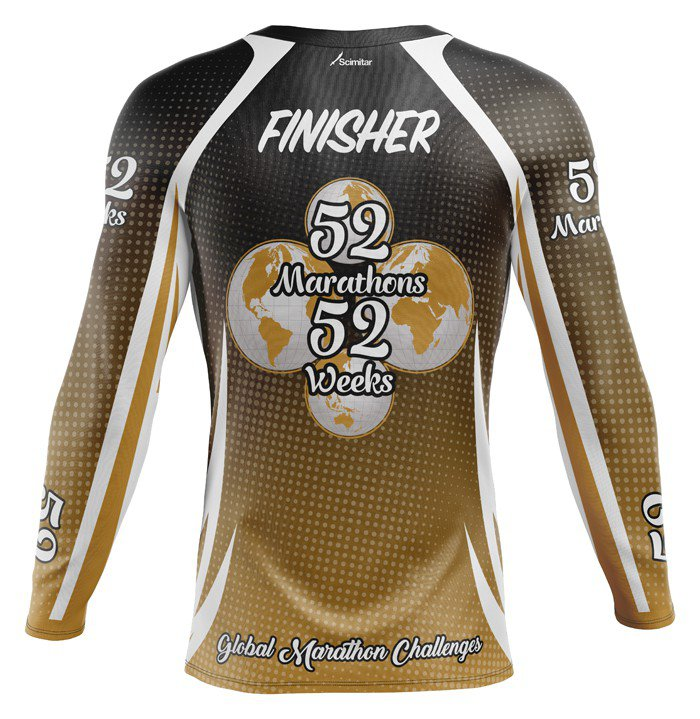 52 Marathons in 52 Weeks - Technical Long Sleeve Top