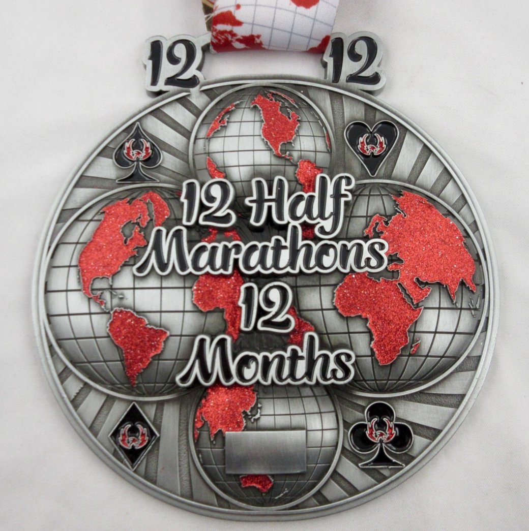 Image result for 12 half marathon in 12 months""