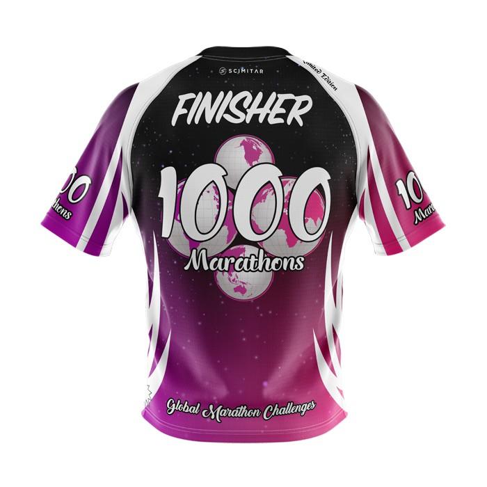 1000 Marathons - Milestone T-Shirt