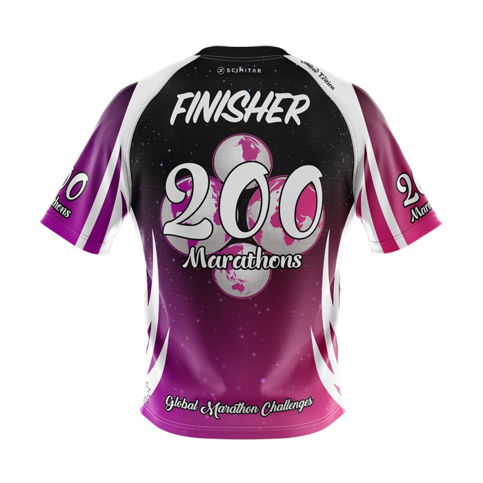 200 Marathons - Milestone T-Shirt