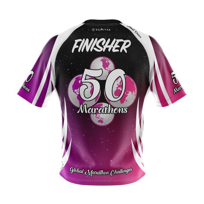 50 Marathons - Milestone T-Shirt