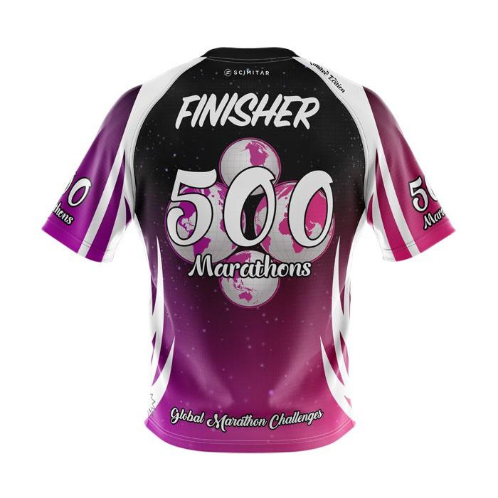 500 Marathons - Milestone T-Shirt