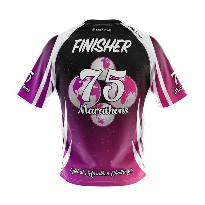 75 Marathons - Milestone T-Shirt