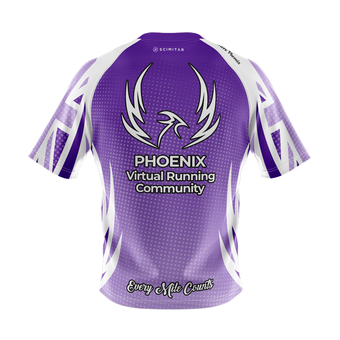 Phoenix Virtual Running Community - Technical T-Shirt