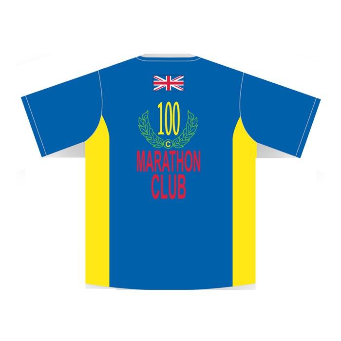 100 Marathons - Milestone T-Shirt